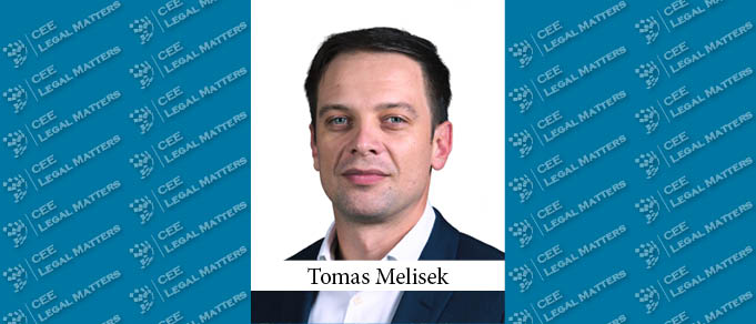 Tomas Melisek Takes Charge of Banking & Finance Practice at Kinstellar Bratislava