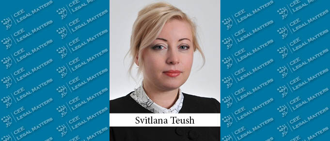 Svitlana Teush Makes Partner at Redcliffe Partners