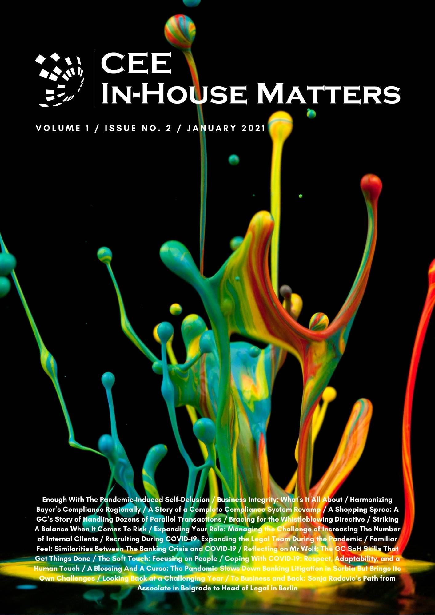 CEE In-House Matters: Issue 1.2