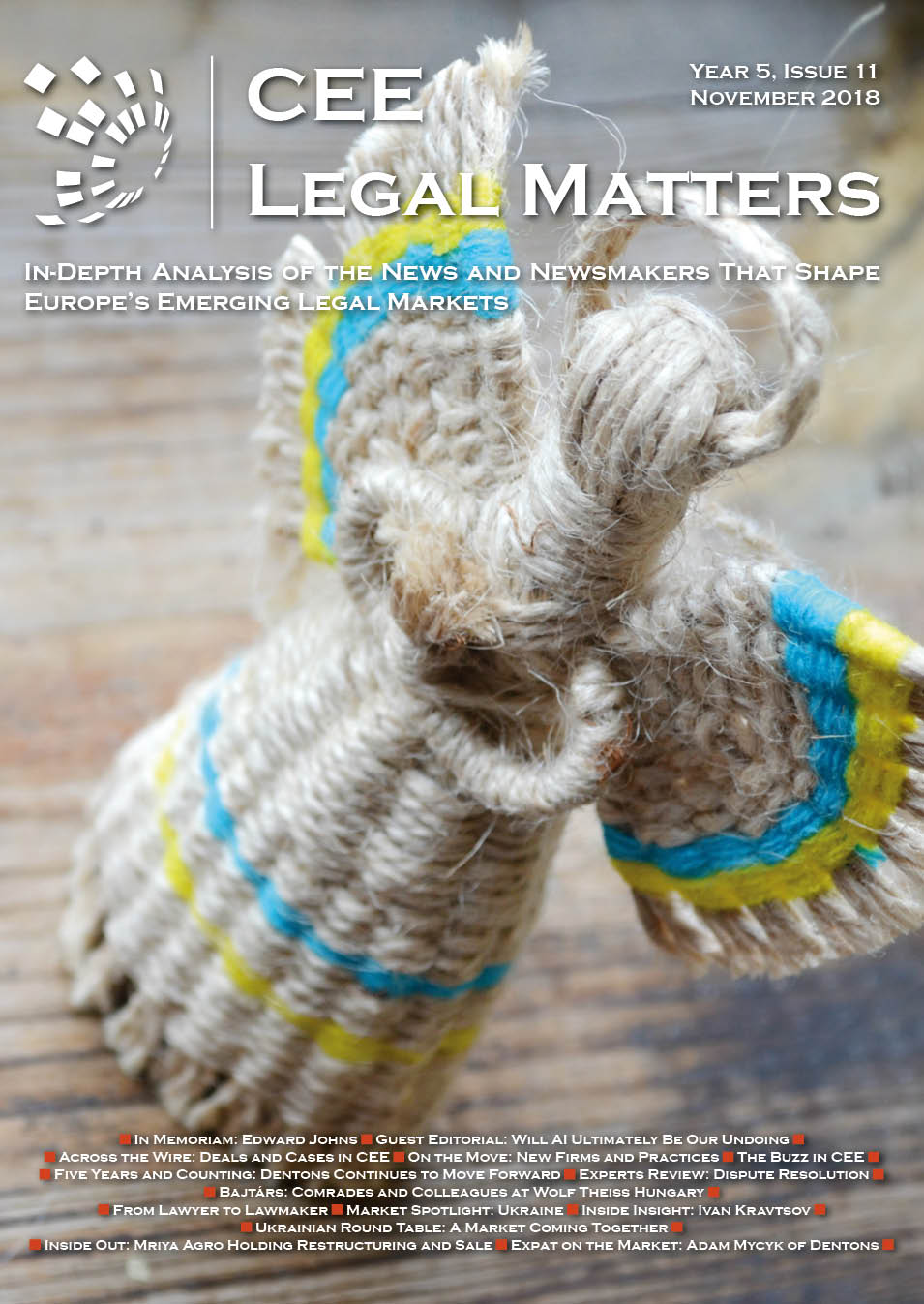 CEE Legal Matters: Issue 5.11.