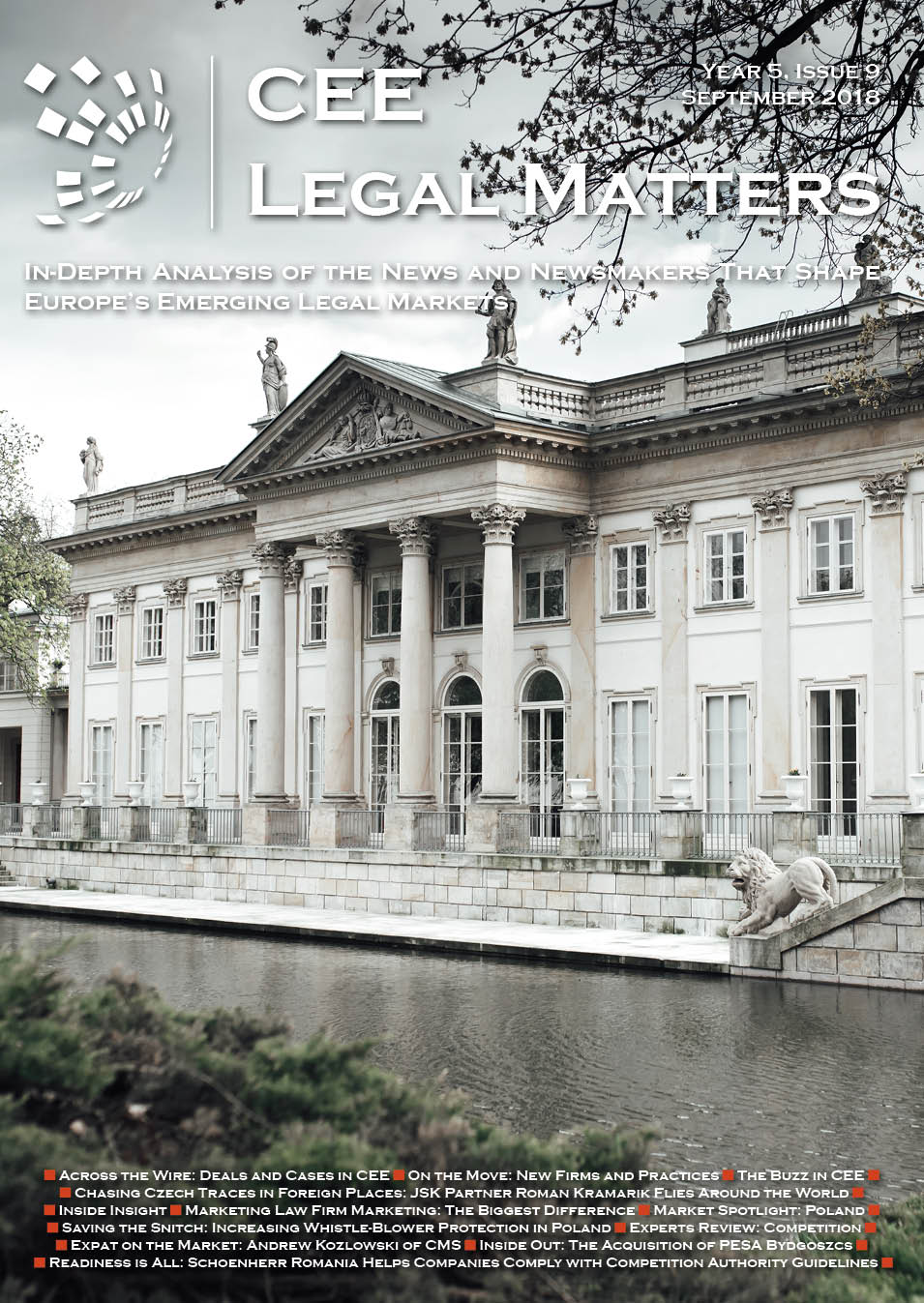 CEE Legal Matters: Issue 5.9.