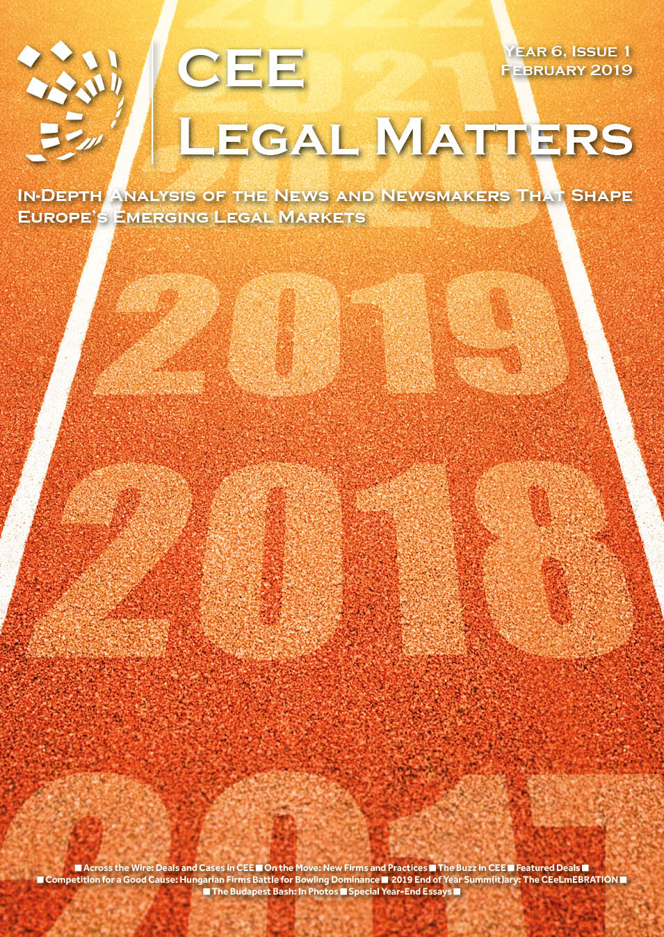 CEE Legal Matters: Issue 6.1.