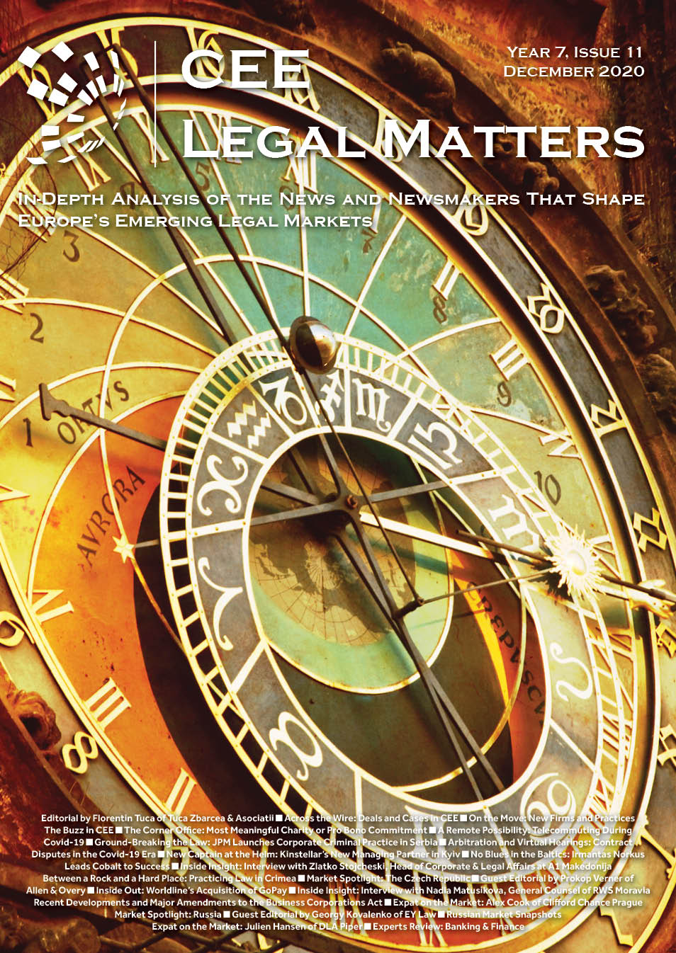 CEE Legal Matters: Issue 7.11